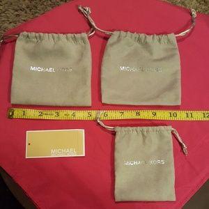 Michael Kors Jewelry Dust bags